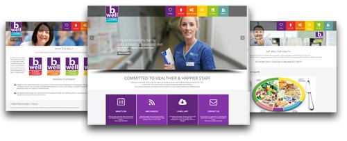 b well site banner