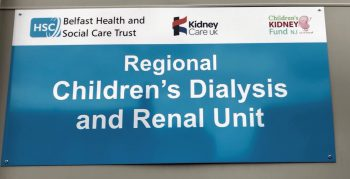 First paediatric living donor transplant