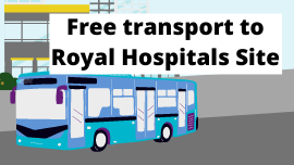 Free transport to Royal Group of Hospitals