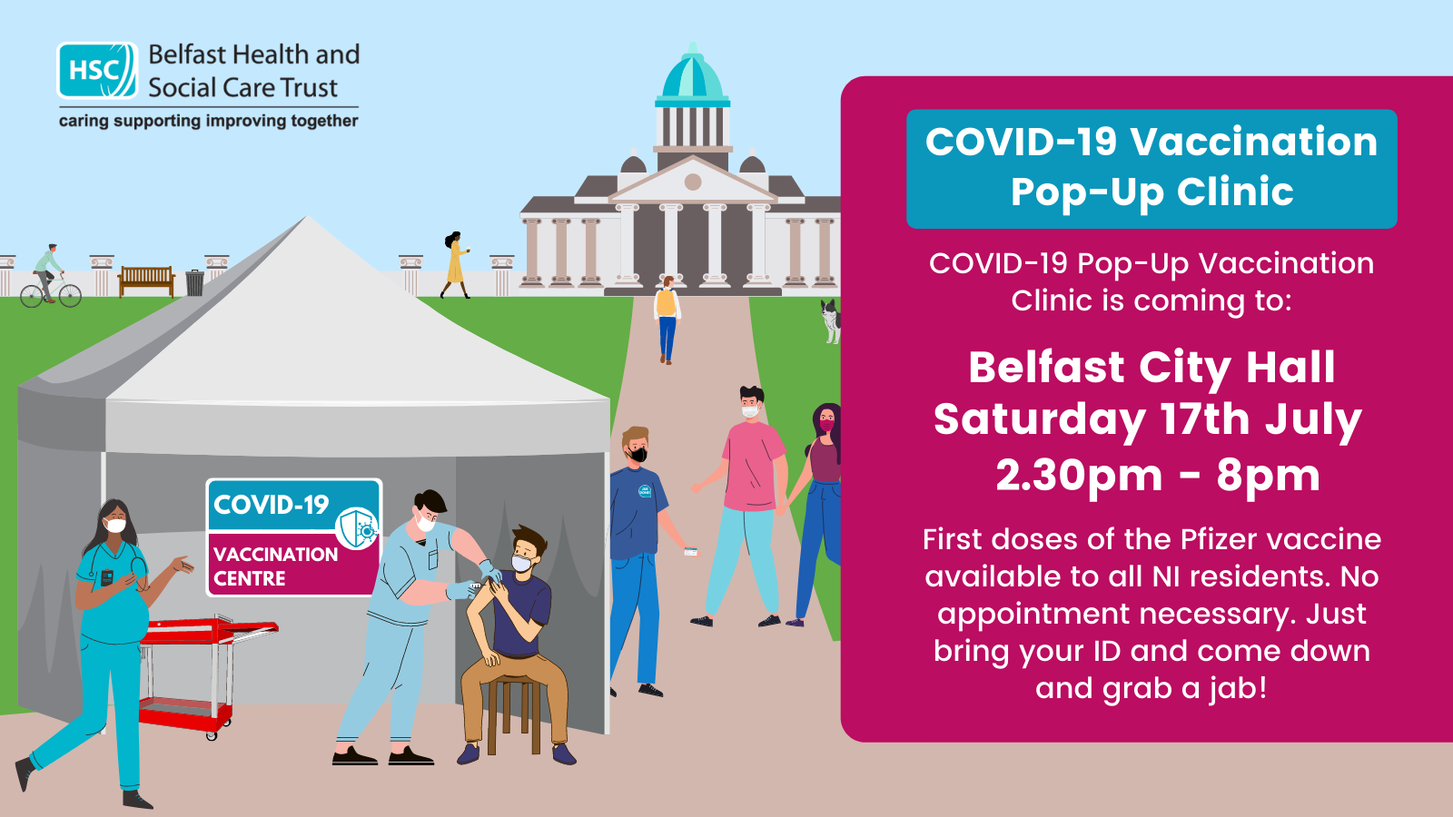 COVID-19 Vaccination Pop-Up City Hall