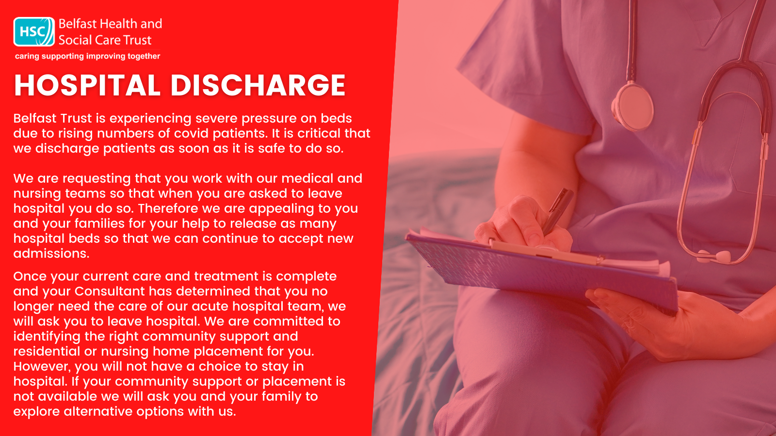 Hospital Discharge graphic